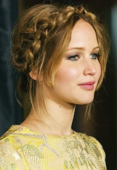 Featured Photo of Milkmaid Braided Hairstyles