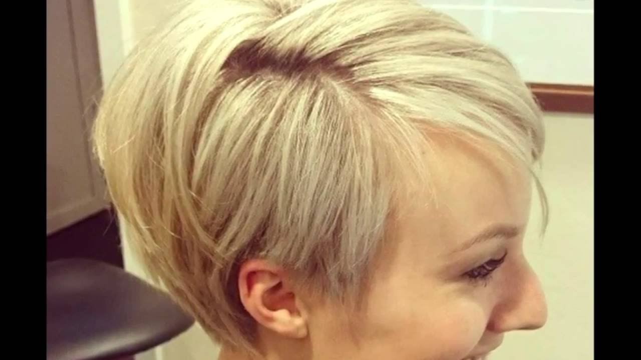 10 Wonderful Wedge Haircuts For Women – Youtube Regarding Most Recent Pixie Wedge Haircuts (View 9 of 15)