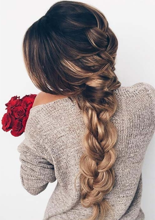 100 Ridiculously Awesome Braided Hairstyles To Inspire You Throughout Most Recent Loosely Braided Hairstyles (View 5 of 15)