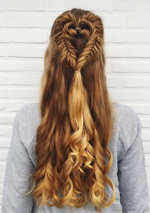 100 Ridiculously Awesome Braided Hairstyles To Inspire You With Regard To Newest Heart Braided Hairstyles (View 13 of 15)