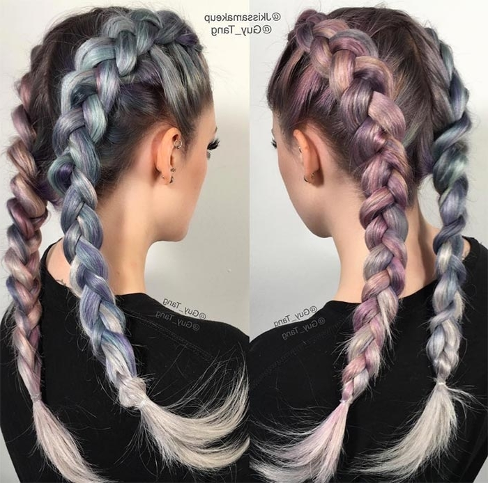 100 Ridiculously Awesome Braided Hairstyles To Inspire You With Regard To Recent Intricate Boxer Braids Hairstyles (View 1 of 15)
