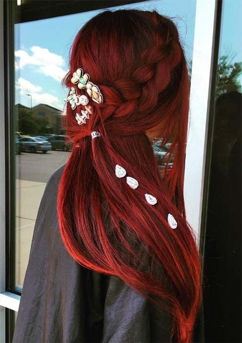100 Ridiculously Awesome Braided Hairstyles To Inspire You Within Most Popular Braided Hairstyles For Red Hair (View 13 of 15)