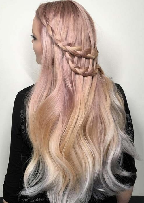 Featured Photo of Long Braided Flowing Hairstyles
