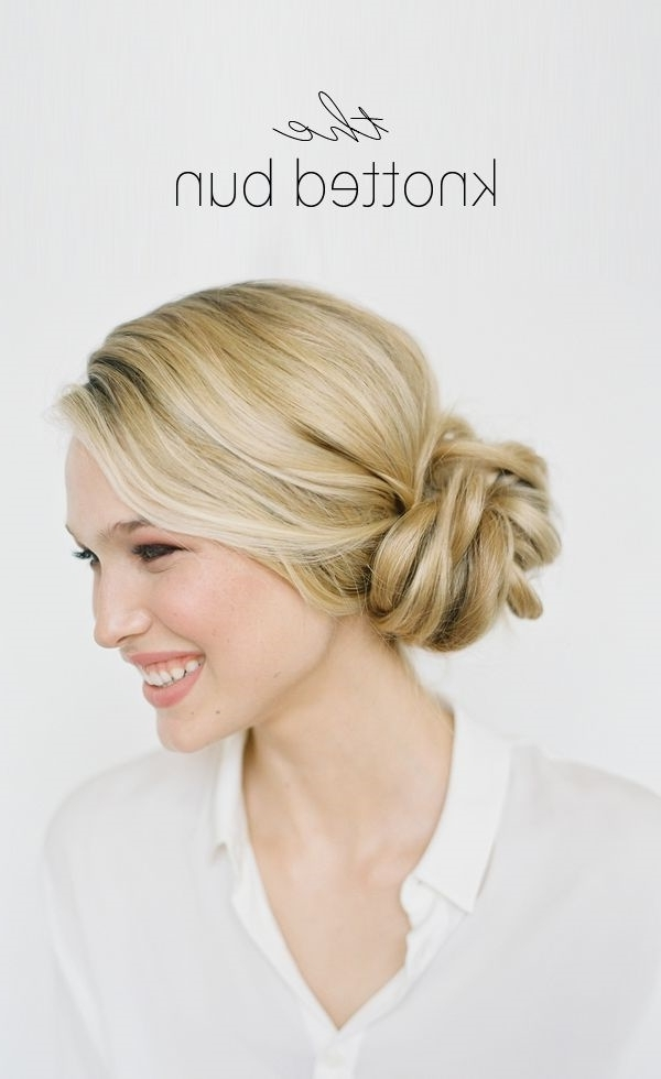 101 Cute & Easy Bun Hairstyles For Long Hair And Medium Hair In Most Current French Braid Crown And Bun Updo (View 10 of 15)