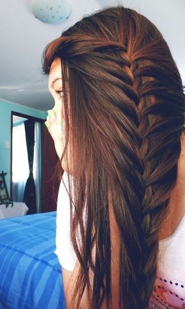 101 Romantic Braided Hairstyles For Long Hair And Medium Hair In Newest Braided Layered Hairstyles (View 13 of 15)