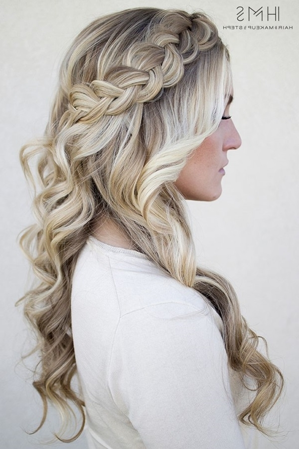 101 Romantic Braided Hairstyles For Long Hair And Medium Hair Within Latest Braided Hairstyles For Long Hair (View 7 of 15)