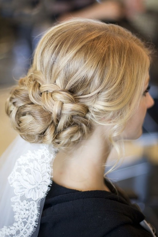 101 Romantic Braided Hairstyles For Long Hair And Medium Hair Within Latest Easy Casual Braided Updo Hairstyles (View 14 of 15)