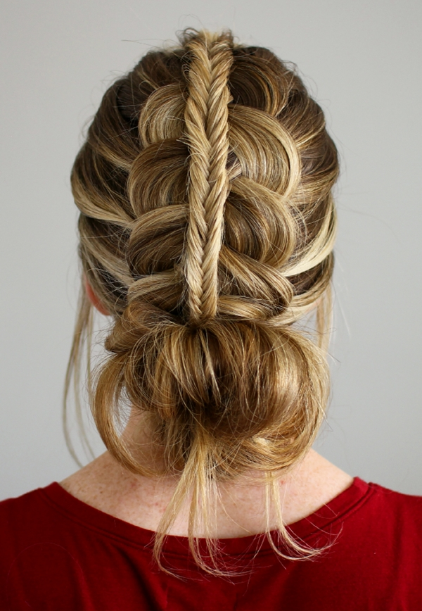 103 Messy Bun Hairstyles Within Most Current Casual Bun With Highlights (View 13 of 15)