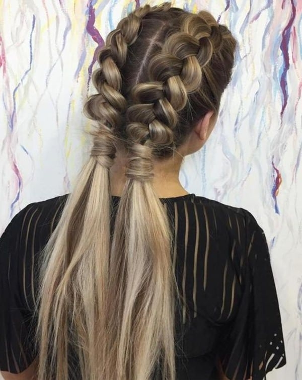 105 Dutch Braid You Can Rock This Season – Style Easily Throughout Most Recently French Braids Into Pigtails (View 6 of 15)