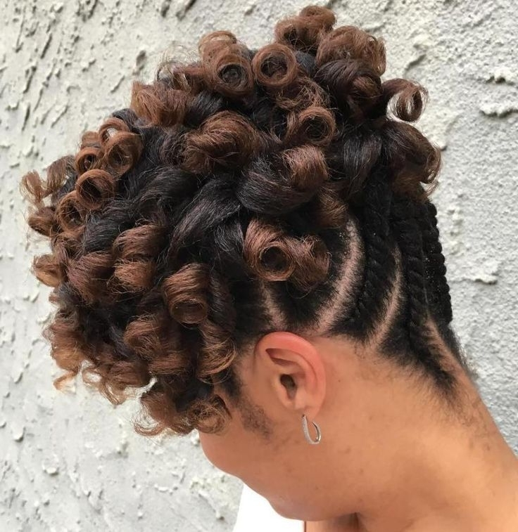10664 Best Natural Hair Images On Pinterest | African Hairstyles Pertaining To Newest Reverse Flat Twists Hairstyles (View 4 of 15)