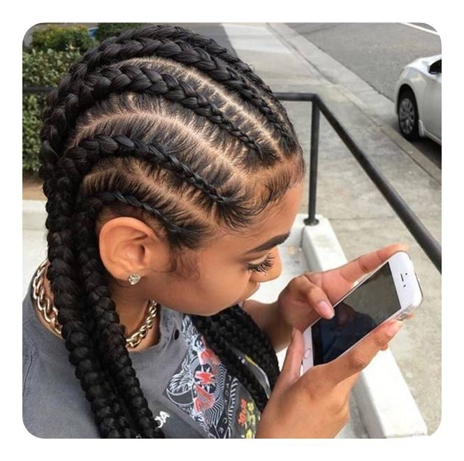 109 Easy And Low Maintenance Protective Hairstyles In Most Up To Date Braided Hairstyles To The Scalp (View 11 of 15)