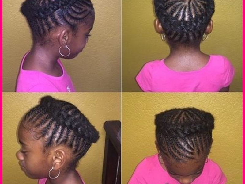 11 Cornrows And Black Crown Braid?w=500&ssl=1 » Best Natural With Most Up To Date Black Crown Braid Hairstyles (View 4 of 15)