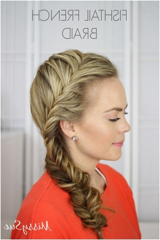 11 Everyday Hairstyles For French Braid – Popular Haircuts Inside Latest Braided Everyday Hairstyles (View 3 of 15)
