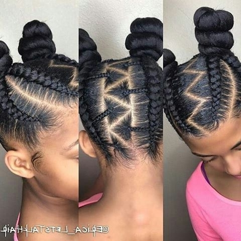 Explore Gallery Of Cornrows Hairstyles For Thin Edges Showing 9 Of