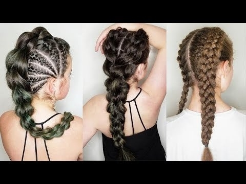 12 Braids Hairstyles For Summer ? How To Braid Your Hair ? Braid With Regard To Current Braided Hairstyles (View 7 of 15)