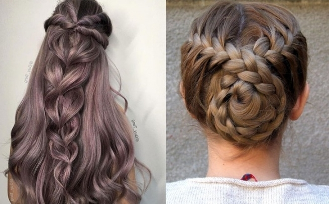 12 Quick And Easy Braided Hairstyles 2018 – Braids Inspiration Intended For Most Up To Date Simple Braided Hairstyles (View 9 of 15)