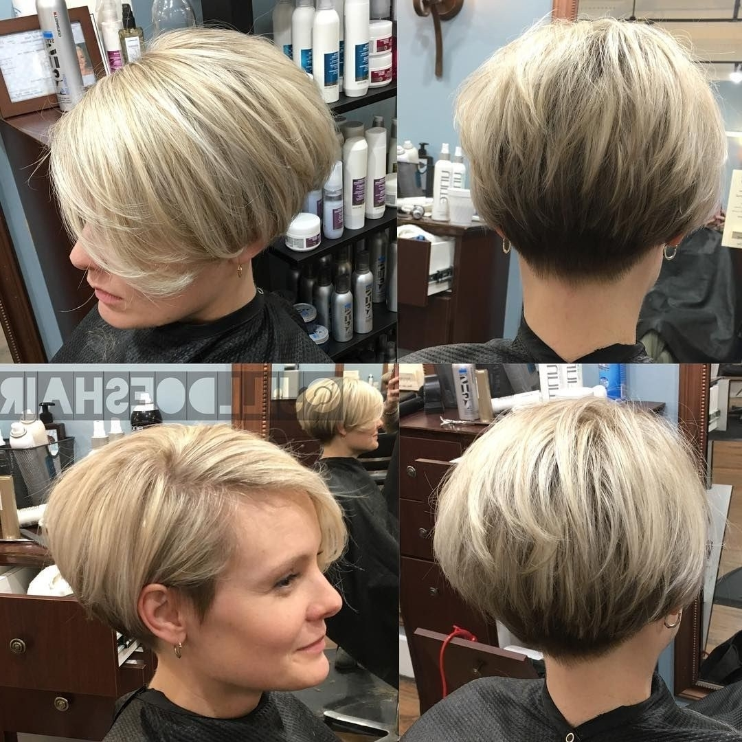 13 Pretty Long Wedge Haircut With Bangs ~ Louis Palace Inside Best And Newest Pixie Wedge Haircuts (View 12 of 15)