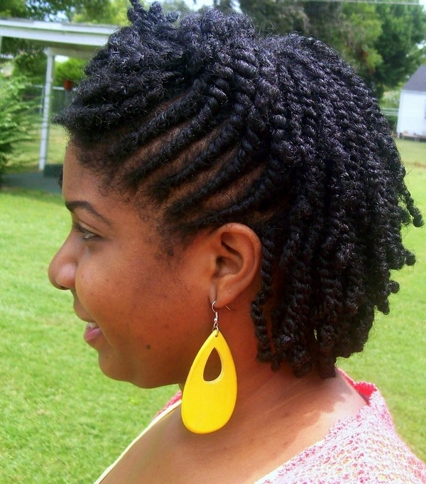 14 Best Tree Braids Styles That Are Completely Stunning Within Newest Braided Natural Hairstyles For Short Hair (View 10 of 15)