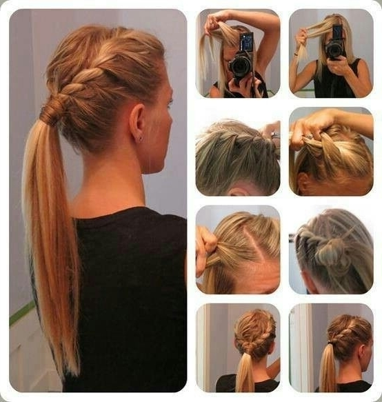 14 Braided Ponytail Hairstyles: New Ways To Style A Braid – Popular Pertaining To Current Braided Everyday Hairstyles (View 9 of 15)