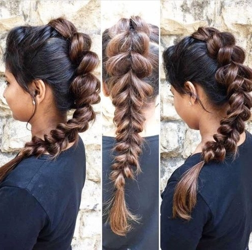 14 Cutest Indian Braid Hairstyles You Will Absolutely Adore For Recent Indian Braided Hairstyles (View 3 of 15)