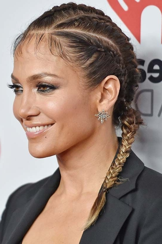 15 Boxer Braids Celebrities & It Girls Are Wearing | Braids/ Plaits Regarding Most Current Jennifer Lopez Braided Hairstyles (View 5 of 15)