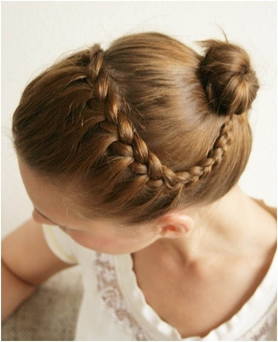 15 Braided Updo Hairstyles Tutorials – Pretty Designs In Current Bun And Braid Hairstyles (View 9 of 15)