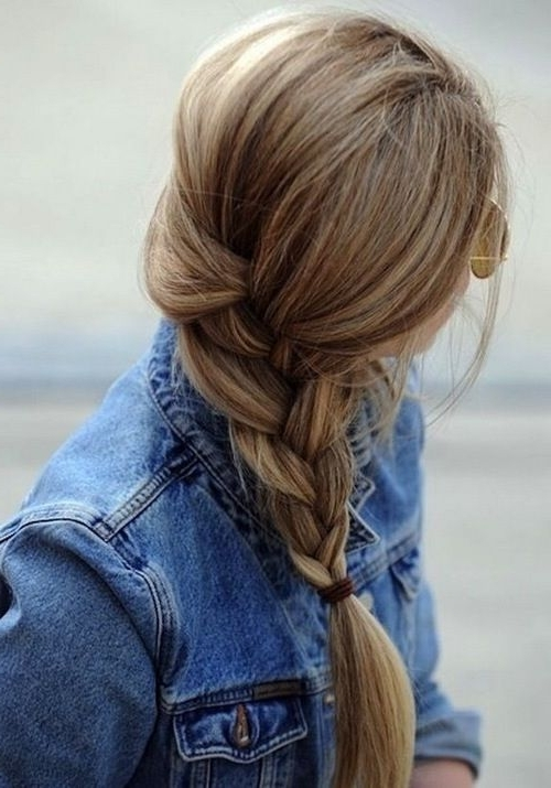15 Loose Braided Hairstyles For A Boho Chic Look – Pretty Designs Throughout Most Recent Loosely Braided Hairstyles (View 15 of 15)