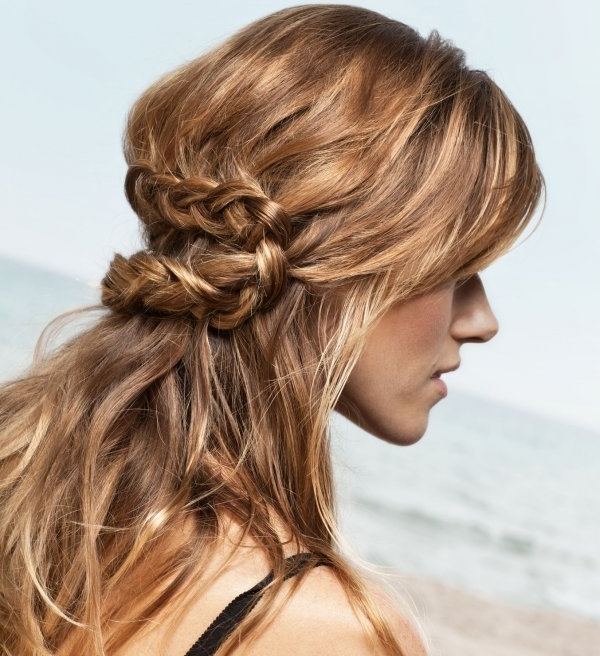 15 Loose Braided Hairstyles For A Boho Chic Look – Pretty Designs With Current Loosely Braided Hairstyles (View 3 of 15)