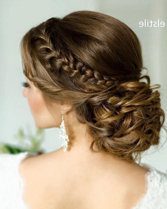 15 Most Beautiful Low Updos For Quinceaneras   Quinceanera Within Newest Braided Quinceaneras Hairstyles (View 3 of 15)