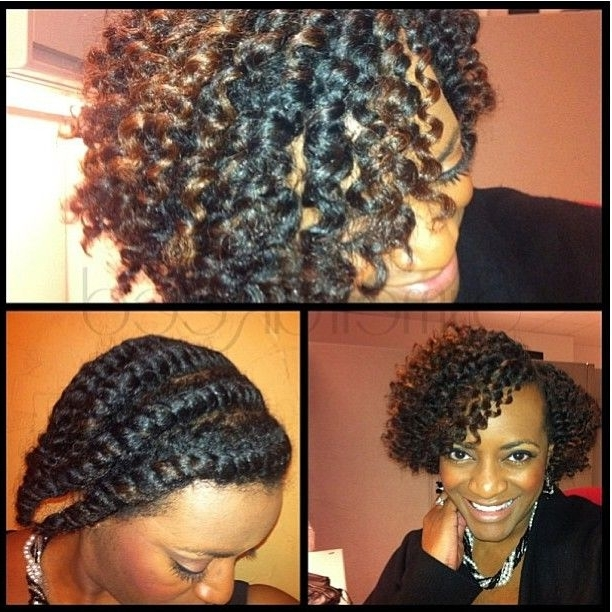 162 Best Cheveux Hair Diy Styles Images On Pinterest | Natural Hair Intended For Recent Flat Twists Into Twist Out Curls (View 15 of 15)