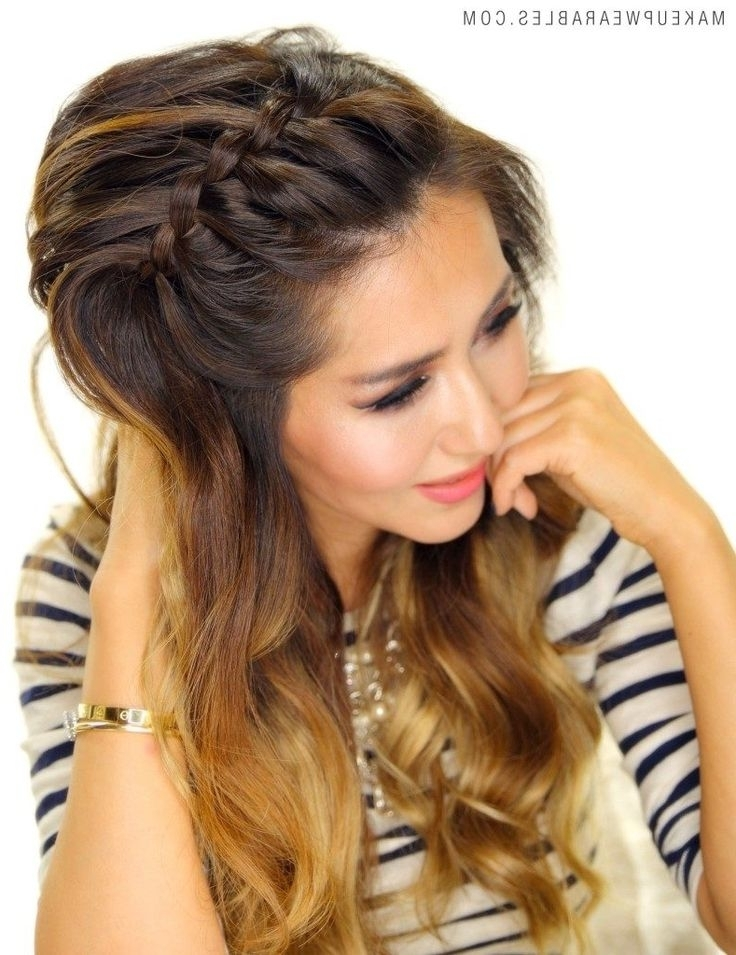 17 Best Top Braided Hairstyles Images On Pinterest | Plait, Plaited With Most Recent Top Braided Hairstyles (View 9 of 15)