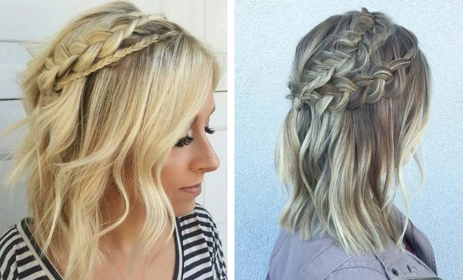17 Chic Braided Hairstyles For Medium Length Hair | Stayglam For Current Medium Length Braided Hairstyles (View 1 of 15)