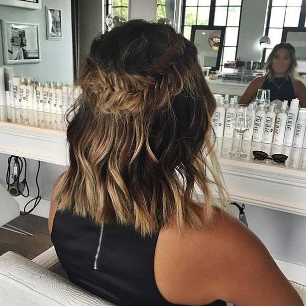 17 Chic Braided Hairstyles For Medium Length Hair | Stayglam Pertaining To Current Braided Hairstyles For Layered Hair (View 15 of 15)
