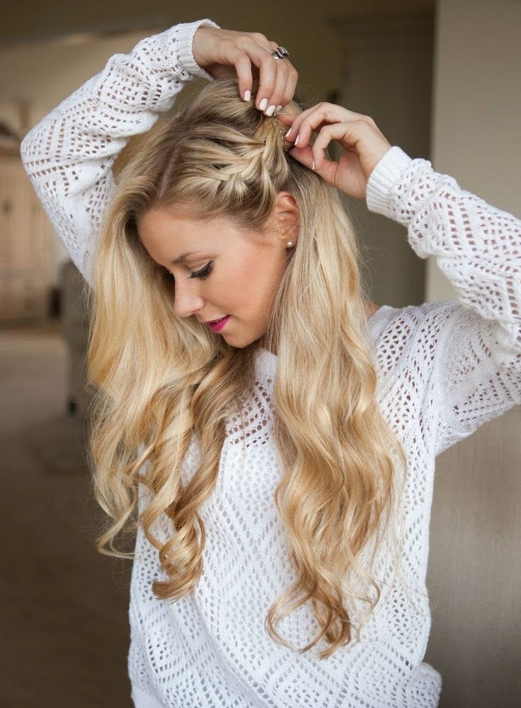 17 Gorgeous Party Perfect Braided Hairstyles | Hair Inspiration Intended For Most Current Braided Hairstyles To The Side (View 1 of 15)