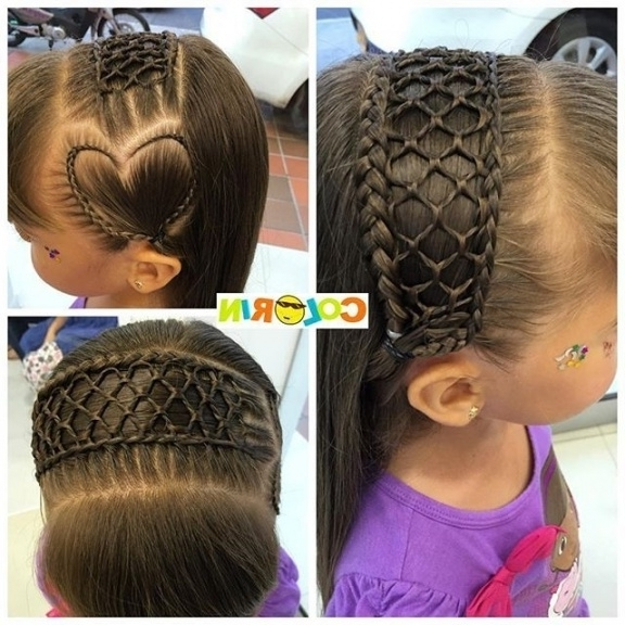 177 Best Heart Braided Hairstyles! Images On Pinterest | Child Intended For Most Up To Date Heart Braided Hairstyles (View 6 of 15)
