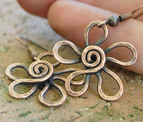 18 Best Copper Wire Images On Pinterest | Copper Wire, Jewelry Ideas With Most Recently Side Top Knot Ponytail With Copper Wire Wraps (View 2 of 15)