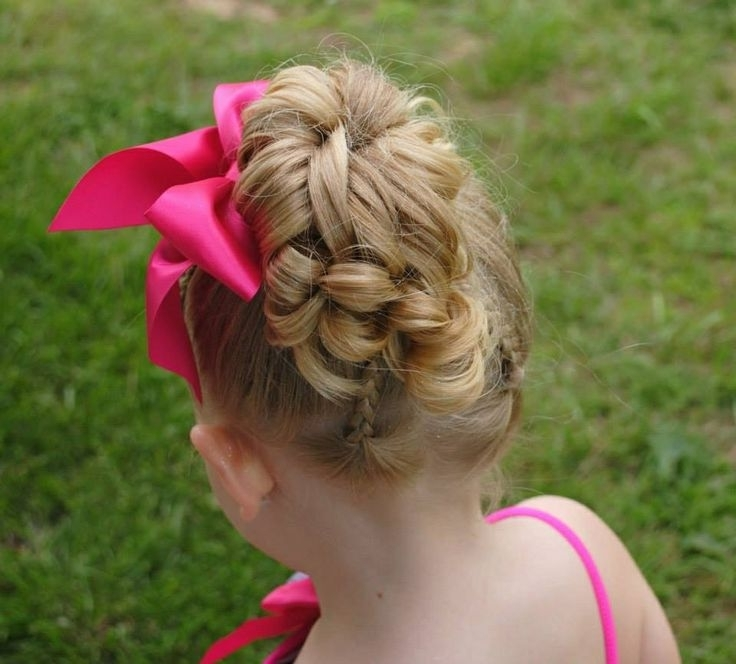 18 Best Lillian's Pageant Hair Ideas Images On Pinterest | Girls With Regard To Newest Braided Hairstyles For Dance Recitals (View 2 of 15)