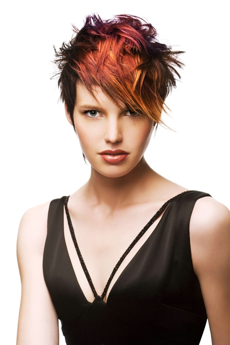 19 Chic Short (And 'messy') Hairstyles | Styles Weekly Within Current Messy Tapered Pixie Haircuts (View 9 of 15)