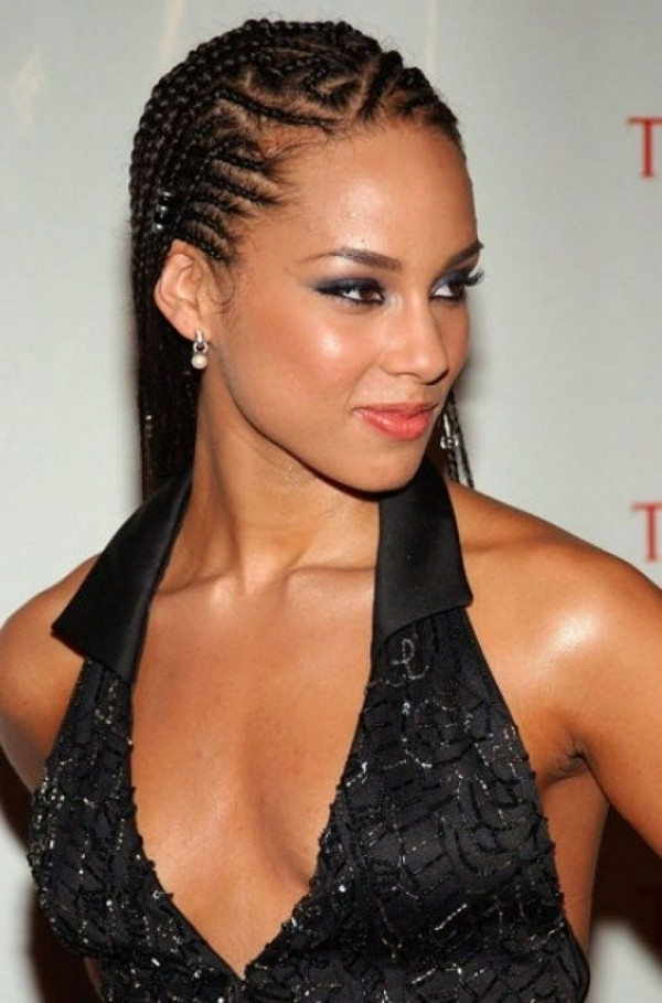 19 Cornrows Hairstyles For Women To Look Bodacious – Haircuts Within 2018 Cornrows Hairstyles For Work (View 11 of 15)