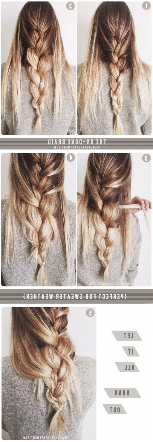 19 Easy Messy Braid Tutorials Anyone Can Do – Gurl | Gurl Inside Newest Loosely Braided Hairstyles (View 7 of 15)