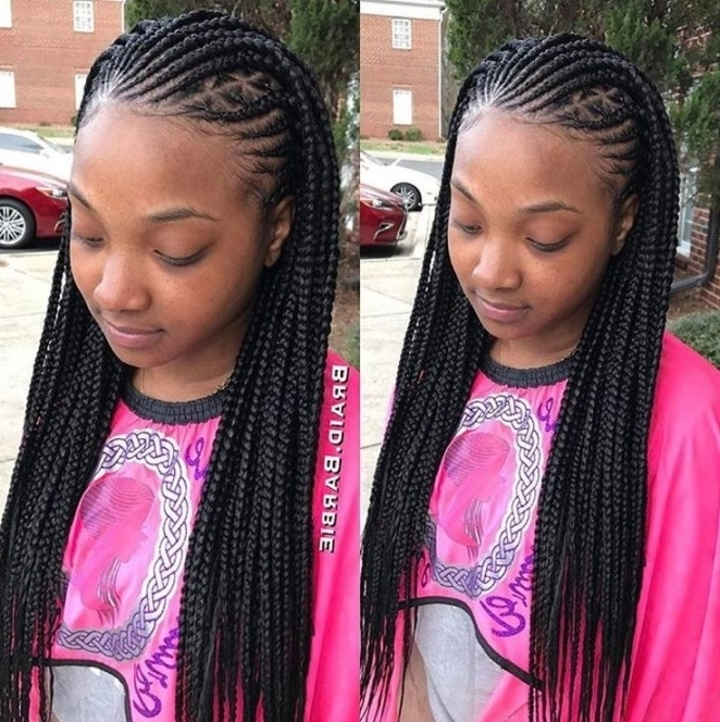 193 Best Braids Images On Pinterest | Braid Hair Styles, Braided Within Most Popular Braided Hairstyles To The Scalp (View 5 of 15)