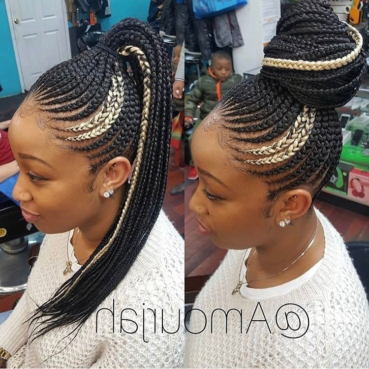 """1,946 Likes, 9 Comments – @berrycurly On Instagram: """"@amourjah With Regard To 2018 Cornrow Up Hairstyles (View 7 of 15)"""