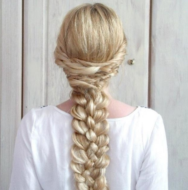 2 Elegant Braided Hairstyles Throughout Best And Newest Elegant Braid Hairstyles (View 2 of 15)