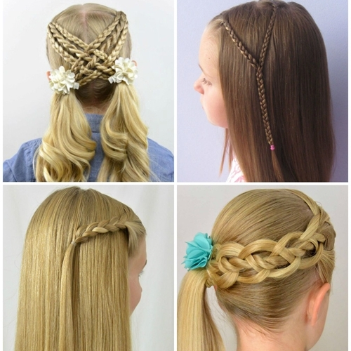 20 Back To School Braids – Babes In Hairland With Most Recently Braided Hairstyles For School (View 2 of 15)