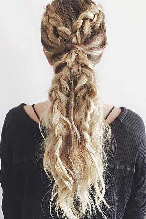 20 Best Prom Braided Hairstyles | Hair | Pinterest | Braid With Regard To Latest Prom Braided Hairstyles (View 3 of 15)