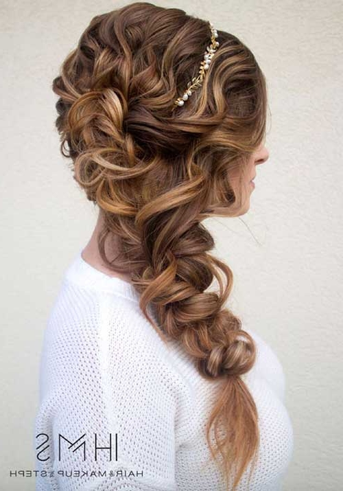 20 Best Prom Braided Hairstyles Simple Of Hairstyles With Braids For Inside Most Recent Prom Braided Hairstyles (View 14 of 15)