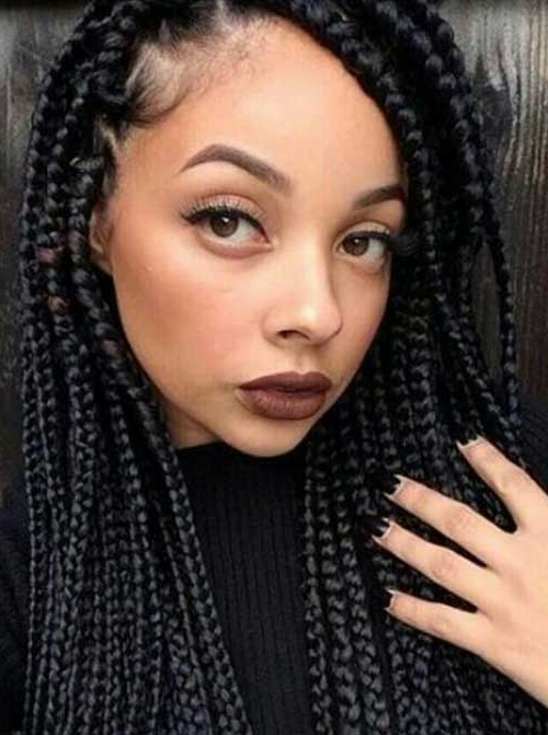 20+ Braids Hairstyles For Black Women | Hairstyles & Haircuts 2016 Pertaining To Latest Braided Hairstyles For Black Woman (View 12 of 15)