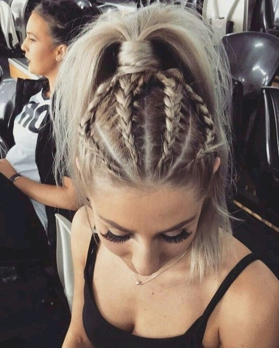 20 Gorgeous Braided Hairstyle Ideas: Chic Braids For Women 2017 Inside Best And Newest Blonde Braided Hairstyles (View 8 of 15)