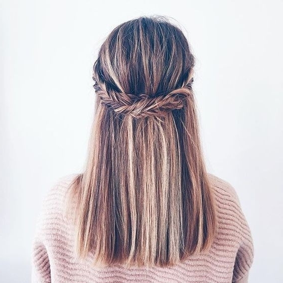 20 Gorgeous Braided Hairstyle Ideas: Chic Braids For Women 2017 With Regard To Best And Newest Braided Lob Hairstyles (View 7 of 15)