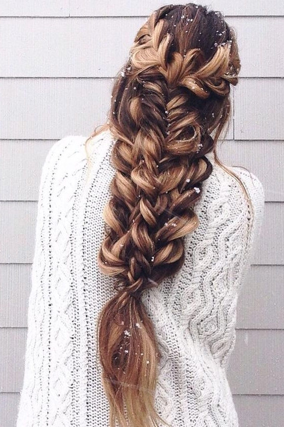 20 Gorgeous Braided Hairstyles For Long Hair – Page 8 Of 9 – Trend Pertaining To Most Current Long Braided Hairstyles (View 1 of 15)